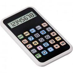 Calcolatrice touch Colors 8 cifre tascabile - bianca