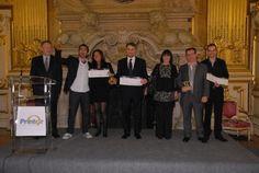 Les gagnants Printor Lyon  2012 : Lyon Alliances Brillants, Jet Set et la bijouterie Baulant