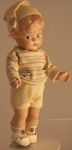 Vogue Toddles Composition Doll