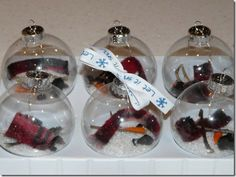 Melted Snowman Ornament 1