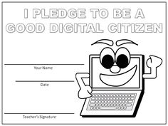 Digital Citizenship  is an important lesson to teach, especially at a young age. I typically begin teaching this concept around the t...