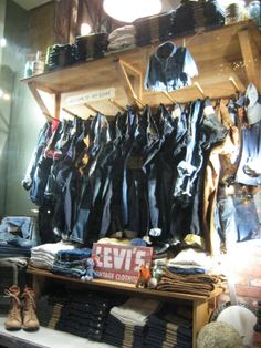 LEVI'S vintage clothing, pinned  by Ton van der Veer