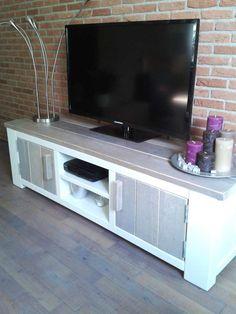 Steigerhout TV-meubel Freya - Steigerhout Furniture  Unieke ...