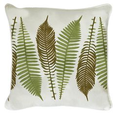 This fern design will add a touch of natural wonder to your living room.