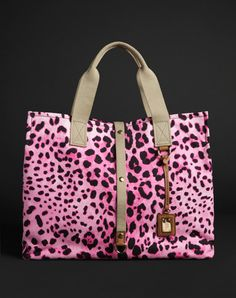 <3 Pink Leopard Handbag!! <3 Dolce & Gabanna!!
