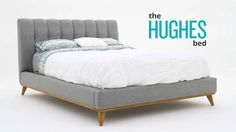 Wistia video thumbnail - Hughes Bed by Joybird Furniture