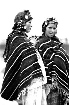 Africa | Two Berber women photographed in Morocco 1973, #litany inspiration for Fall 2013 #nomadsandtalismans