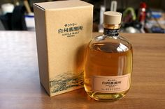Hakushu Single Malt Whisky (Hakushu Suntory Whisky Distillery only Bottling, 43% ABV, 300ml)