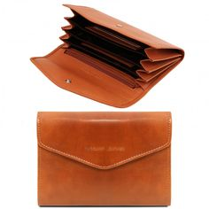 2cffd3b562f De portemonnaie is gemaakt van volnerf leder jacquard voering Van binnen  heeft de portemonnee 4 compartimenten