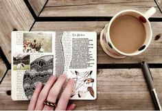 therapeutic morning rituals - coffee and a journal