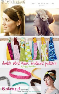 Vintage Inspired Head Scarf: Tutorial - welcometothemousehouse.com