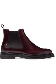 CHURCH'S Patsy glossed-leather Chelsea boots. #churchs #shoes #stiefel