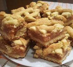 Hungarian Desserts, Hungarian Recipes, Good Food, Yummy Food, Eat Seasonal, Salty Snacks, Cookie Bars, Apple Pie, Dessert Recipes