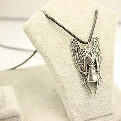 Supernatural Castiel Trench Coat Necklace
