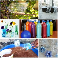 Ideas to reuse plastic bottles