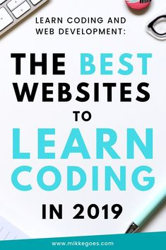 The Best Websites to Learn Coding in perfect for absolute programming beginners! Start your New Year by learning new skills to boost your career, start freelancing, or become a full-time web developer. These coding sites have both free and paid reso Learn Programming, Computer Programming, Computer Science, Python Programming, Programming Languages, Learn Coding Online, Learn Computer Coding, How To Learn Computer, How To Learn Coding