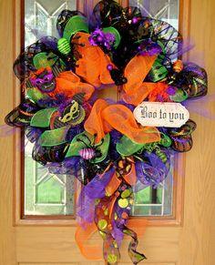 halloween wreaths to make - Google Search