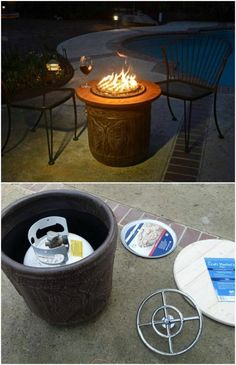15 DIY Patio Fire Bowls That Will Make Your Summer Evenings Relaxing And Fun - I love summer. From the warm nights and the longer days to the crickets chirping and birds singing, there isn't one single thing that I don't like about this season.