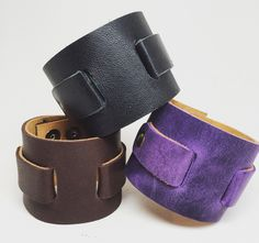 Joxasa Lebe leather cuffs