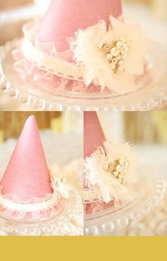 Gold, pink and lace party