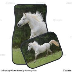Horse In The Woods Car Mat Horses Cars And Wood
