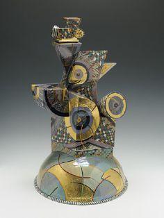 Artist: Ralph Bacerra, Title: Untitled Covered Vessel, 2002