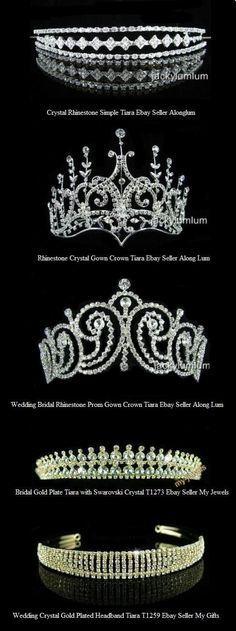 Tiaras Im gonna wear a tiara at my wedding! Royal Crowns, Royal Tiaras, Tiaras And Crowns, Wedding Tiaras, Estilo Real, Royal Jewelry, Circlet, Crown Jewels, Queen Bees