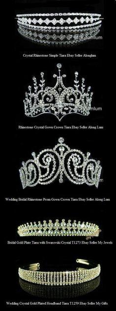 Tiaras <3 I'm gonna wear a tiara at my wedding!