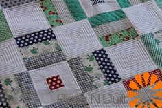 Modern Geometric Machine Quilting