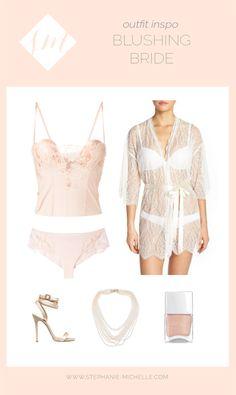 Blushing Bride | Bridal Boudoir | Boudoir Outfit Inspiration | By Stephanie Michelle | Hampton Roads Boudoir Photographer
