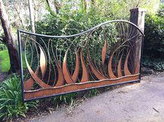 Art metal driveway gate   3.6 mt driveway gate forged steel …   Flickr