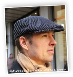 Are you tired of searching Excellently Fitting FLAT CAP (sometimes called Gatsby hat, or even Newsboy hat) for The Man in Your Life? He wants STYLE, COMFORT, WARMTH, and having ONE OF A KIND HAT? Y...