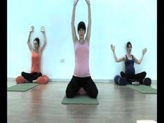 Yoga per la gravidanza -Parte 1 - YouTube
