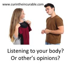 What if you listened to your body instead of the opinions of other? Invitation to Worldwide telecall kicking out limitation and creating an amazing body - telecall/series, worldwide, with the guru of cute not bright: Liam Phillips http://www.accessconsciousness.com/class_details.asp?cid=53552