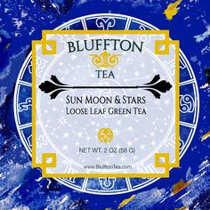 Sun, Moon & Stars, a Green Tea Blend