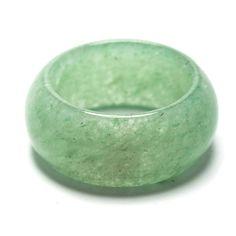 Anillo Aventurina Verde 10mm