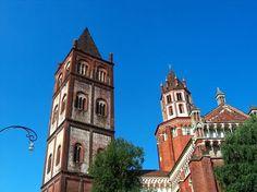 Travel: Basilica di Sant'Andrea, Vercelli, Italy
