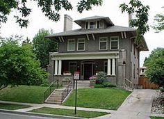 Mamie Eisenhower's childhood home - 750 Lafayette Street, Denver. I enjoy walking through this neighborhood. I love the architecture!