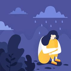 To help you grieve and heal after a loss, here are three things you should know. Dealing With Grief, Feeling Lost, Person Sitting, Loneliness, Trauma, Vector Art, Depression, Disney Characters, Fictional Characters