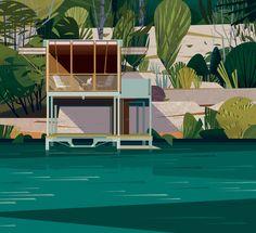 Cabins by Cruschiform | Agent Pekka