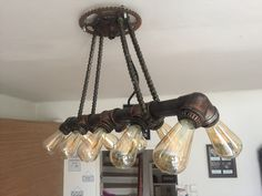 Chandelier, Ceiling Lights, Lighting, Home Decor, Homemade Home Decor, Candelabra, Light Fixtures, Chandeliers, Ceiling Lamps