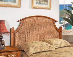 Abaco Wicker Headboard