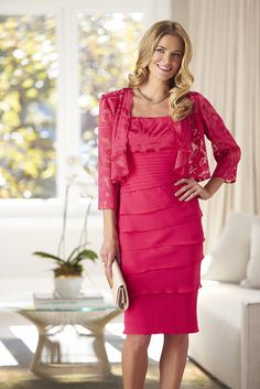 23a9aa8bb25e9 Laura K by Mr K Red Long Sleeve Dress