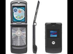 7- Motorola RAZR V3: En el séptimo lugar nos encontramos con este Motorola RAZR V3, un modelo lanzado el año 2004 y que tuvo mucho éxito, especialmente en los Estados Unidos y Europa, vendiendo 130 millones de unidades.