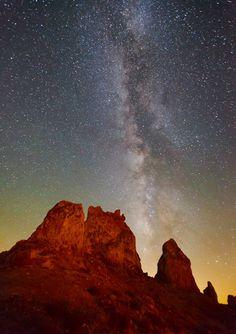 Stargaze in the California desert.