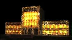 FACADE PROJECTION - TIRANE UNIVERSITY. 2monochannels facade projection at the university of Tirane. The event was held following speech by p...