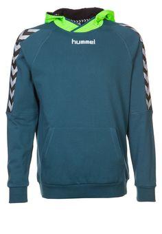 Hummel STAY AUTHENTIC - Kapuzenpullover - legion blue - Zalando.de #HU342G001-K11 #Hummel #null #blau #hoody #hoodie #kapuzenpullover #petrol #grün #logo - Handball spielen - Handball spielen
