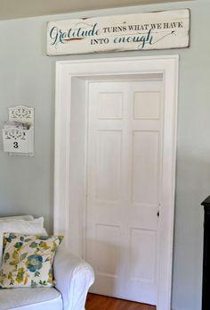 """Gratitude"" Wood Sign {customizable} - Aimee Weaver Designs"