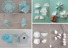 Momentips: DIY #4. Las 1001 ideas con blondas de papel