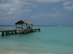 Pidgeon Point in Tobago. Fotograf: Reinhard Jahn, Mannheim.